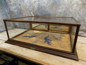 36 Showcase Pauk Country Store Display Case Cabinet Counter Jewelry Vintage B