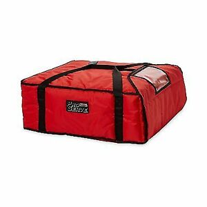 Rubbermaid Commercial Proserve Pizza Delivery Bags Fg9f3700red