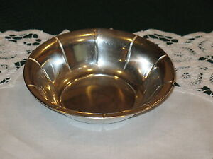 58g Preisner 925 Sterling Silver Condiment Nut Candy Dish Bowl 5 3 8 X 1 5 16