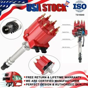 High Performance Billet Ignition Distributor For 87 95 Chevy Gm 350 7 4 Efi Tbi