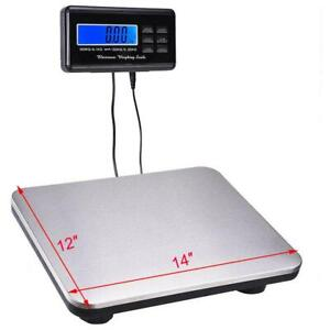 660lbs 0 1 300kg Digital Floor Platform Postal Scale Shipping Weight Heavy Duty