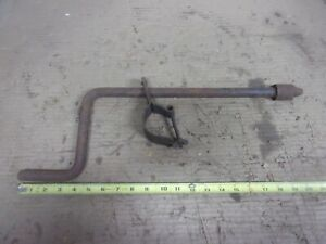 Vintage Engine Crank Gear Handle Bracket Tool Rat Rod Truck Dodge Hudson Oem F