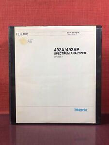 Tektronix 492a 492ap Spectrum Analyzer Service Manual Volume 1 070 5565 00 2271