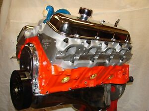 396 450hp Chevy Chevelle Camaro Hi Perf Bb Crate Engine Edelbrock Alum Heads