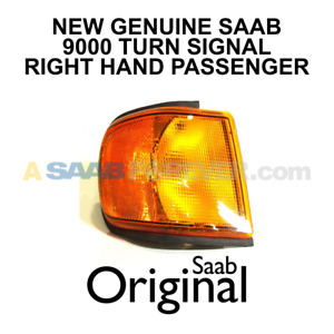 New Genuine Saab 9000 Cse Aero 93 98 Turn Signal Parking Light Rh Pass 4344065