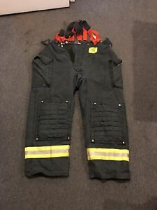 Morning Pride Gear Bunker Pants Turnout Pants Fdny Style Size 48x31