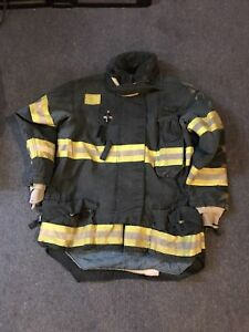 Morning Pride Gear Bunker Jacket Turnout Jacket Fdny Style Size 48