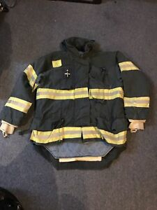 Morning Pride Gear Bunker Jacket Turnout Jacket Fdny Style Size 44