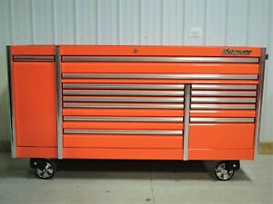 Snap On Orange 84 Epiq Tool Box Toolbox Stainless Steel Power House Top