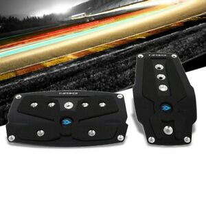 Nrg Nrg Pdl 250bk Brake Gas Automatic At Black Race Foot Pedal Plates Cover Set