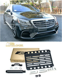 Eos For 15 up Benz Amg S63 S65 Sedan Mid Sized Tow Hook License Plate Bracket