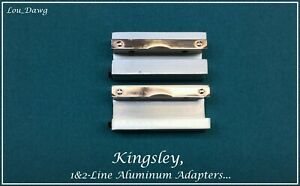 Kingsley Machine 1 2 line Aluminum Adapters Hot Foil Stamping Machine