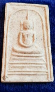 Thai Buddhist Amulet From Thailand In Temple Box