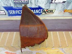 1939 Chevrolet Left Front Fender Grill Splash Guard