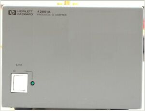 Hp Agilent Keysight 42851a Q Adapter For 4285a Lcr Meter 42851 61100 Smd Fixture