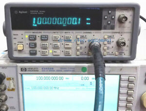 Hp agilent 53131a Opt 001 030 225 Mhz Universal Frequency Counter