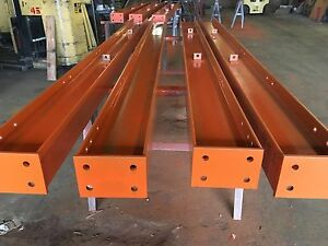 10 Tall Cantilever Racking Structural Hd 5 5 X 8 5 Post W base