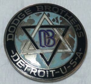 1917 1925 Dodge Brothers Radiator Badge emblem