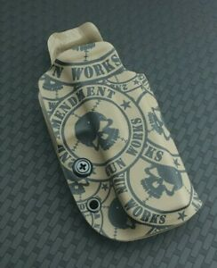 Competition OWB FDE 2AGW Printed Kydex Holster 2nd Amendment Gun Works Glock 19x