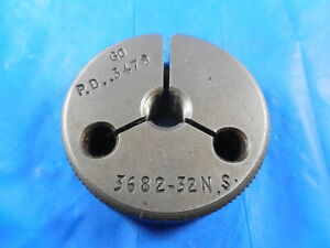 3682 32 Ns Thread Ring Gage Go Only P d 3479 Quality Inspection Tools
