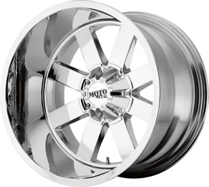4 18 Inch 18x10 Mo962 Chrome Rims Wheels Lifted 8lug Ford Super Duty Truck 8x170