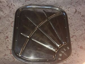 Vintage Roper Oven Broiler Pan Top Of Broiler Pan Only Very Heavy
