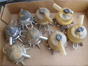 Milker Flow view Claws milking Equipment Mixed Lot