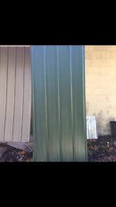 100 Sheets 3x14 new Metal Roofing Panels Green read Full Description