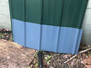 50 Sheets3x15 brand New Metal Roofing Panels Blue Color