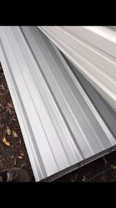 50 Sheets 3x14ft New Metal Roofing Light Gray stone Color read Full Description