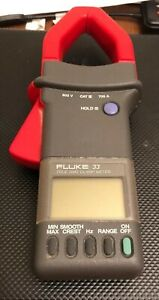 Fluke 33 True Rms Clamp Meter Works