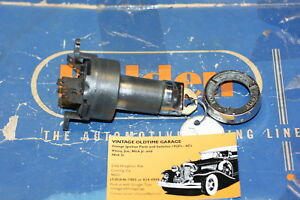 1958 1962 Chevrolet Ignition Switch Genuine Delco Remy