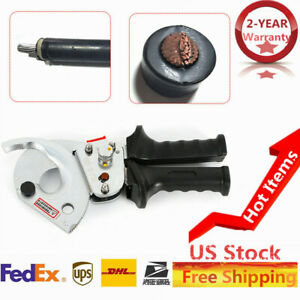 Cutter Ratchet style Electric Cutting Tools Extended Length 11 5 For Cu