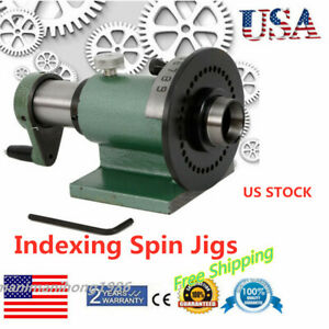 5c Indexing Spin Jigs Fixture Collet For Milling Metalworking Pf70 5c