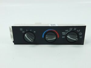 01 07 Chevy Express Gmc Savana Heater Ac Temperature Climate Control Unit Oem