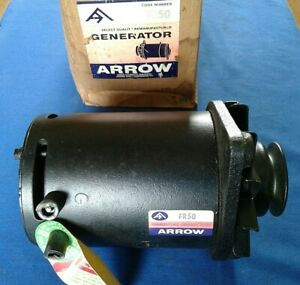 Arrow Reman Generator Fr50 Ford Falcon Mercury Comet 1960 62 Fairlane 1962 63
