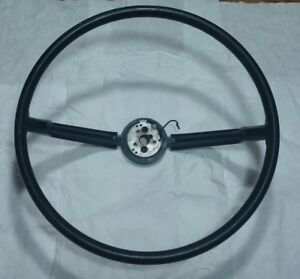 1968 Chrysler Plymouth 2 Spoke Steering Wheel