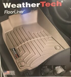 Weathertech Floorliner Mat For Sierra Silverado Double Cab 1st 2nd Row Tan