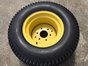 John Deere 670 Tractor Rear Turf Tire Wheel Rim Bridgestone 31x15 5 15 650
