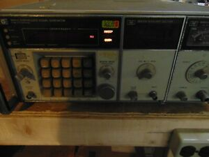 Hp 8660c Synthesized Signal Generator