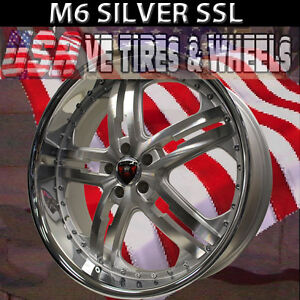 Merceli M6 20x8 5 5x120 Et 35 Smf Ssl Chevrolet Camaro Bmw 3 Series