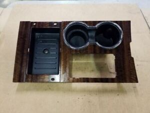 07 08 09 10 11 12 13 14 Ford Expedition Front Console Shifter Woodgrain Trim