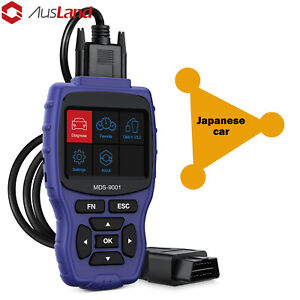 For Honda Nissan Toyota Japanese Cars Obd2 Scanner Abs Srs Code Reader Scan Tool