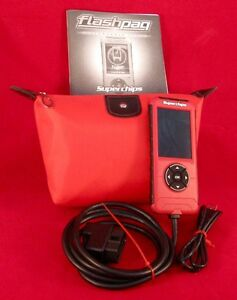 Superchips 4845 Like New F5 Flashpaq Ford Gm Dodge Programmer Hand Held Tuner