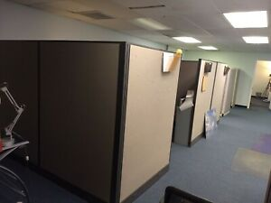 9 Office Panels Partitions Cubicles In Various Sizes chesapeake Va
