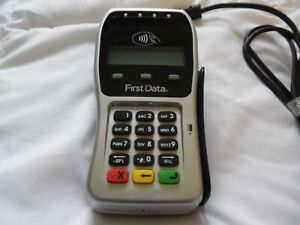 First Data Fd 35 Credit Card Reader Pin Pad Manufactured 2018