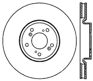 Stoptech For 04 08 Acura Tl W Brembo Calipers Premium High Carbon Cryo Front B