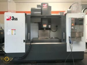 Haas Vf 3ss 40 X 20 Y 25 Z Cnc Vertical Machining Center New 2016