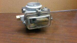 Holley 1904 Carburetor List 1684 1958 1962 Ford Glass Bowl