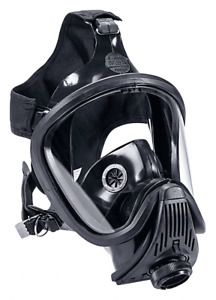 Nib Msa 493116 Ultra Elite Silicone Rubber Full Face Respirator Size Large
